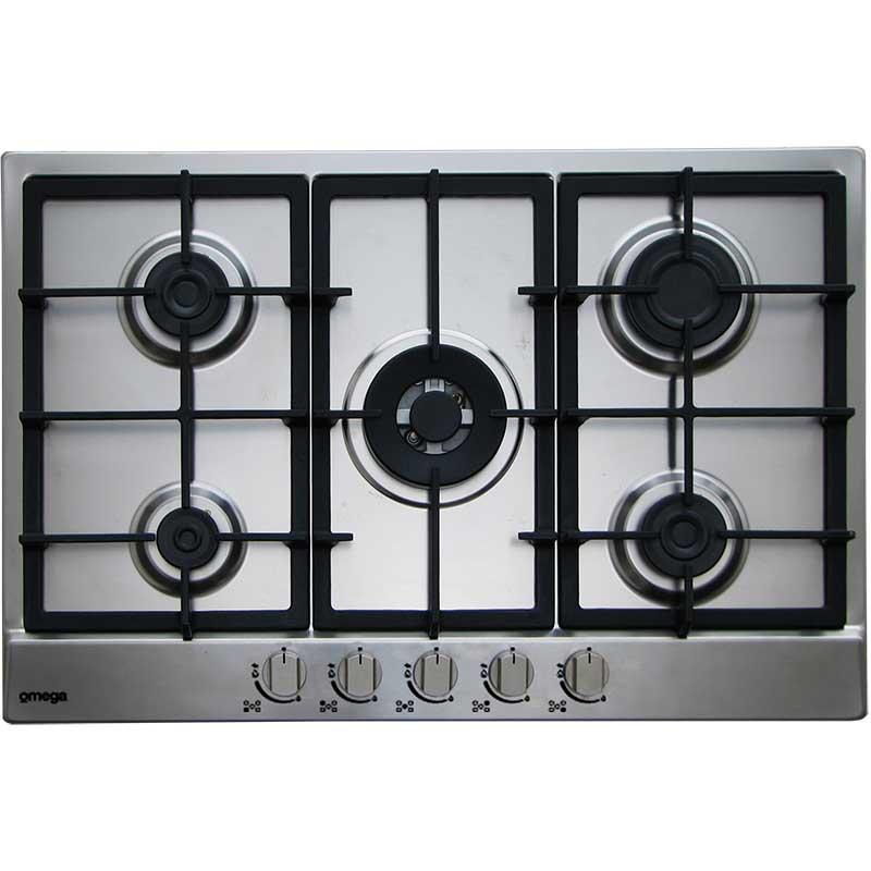 Omega Gas Cooktops OCG755FX