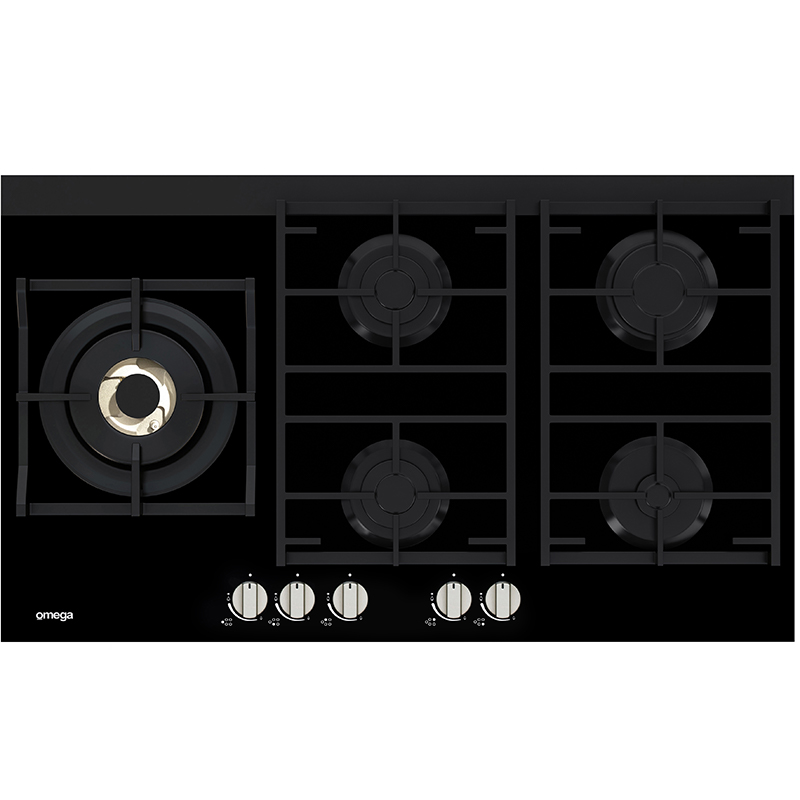 Omega Gas Cooktops OCG95FFX