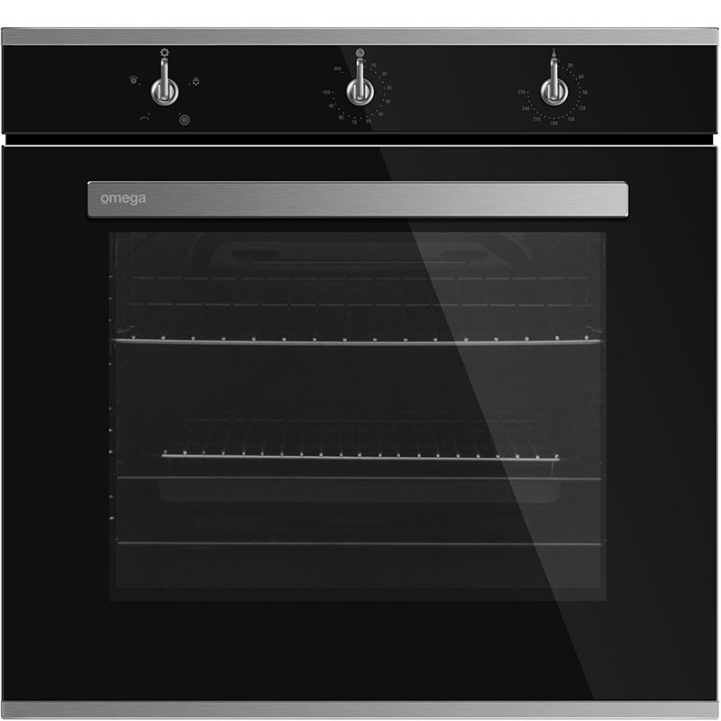 Omega 60cm Electric Wall Oven OBO690TGG